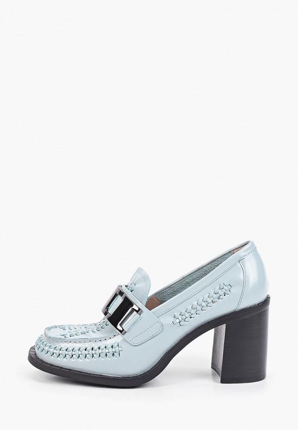 женские туфли с закрытым носом graciana, голубые