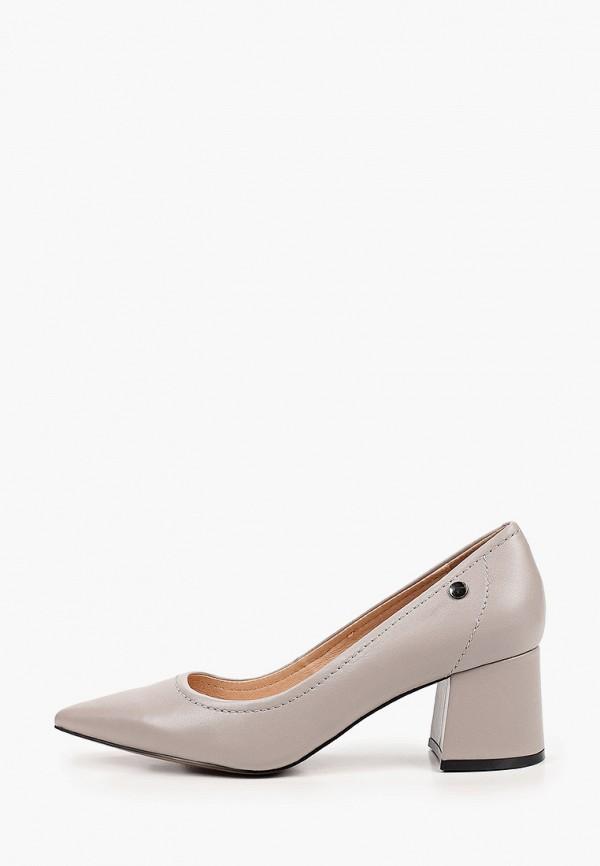 женские туфли с закрытым носом graciana, серые
