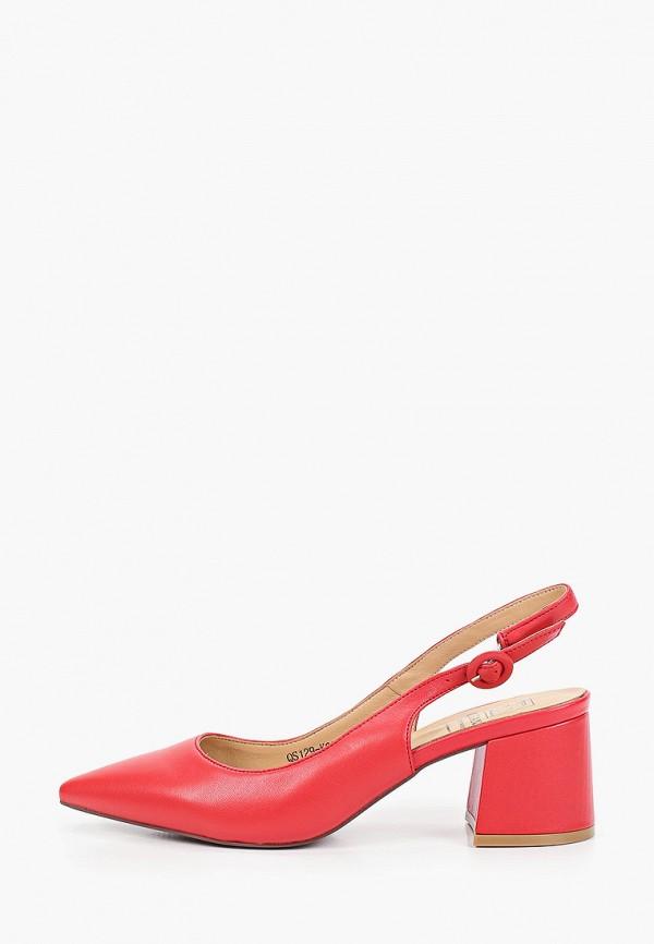 женские туфли graciana, красные