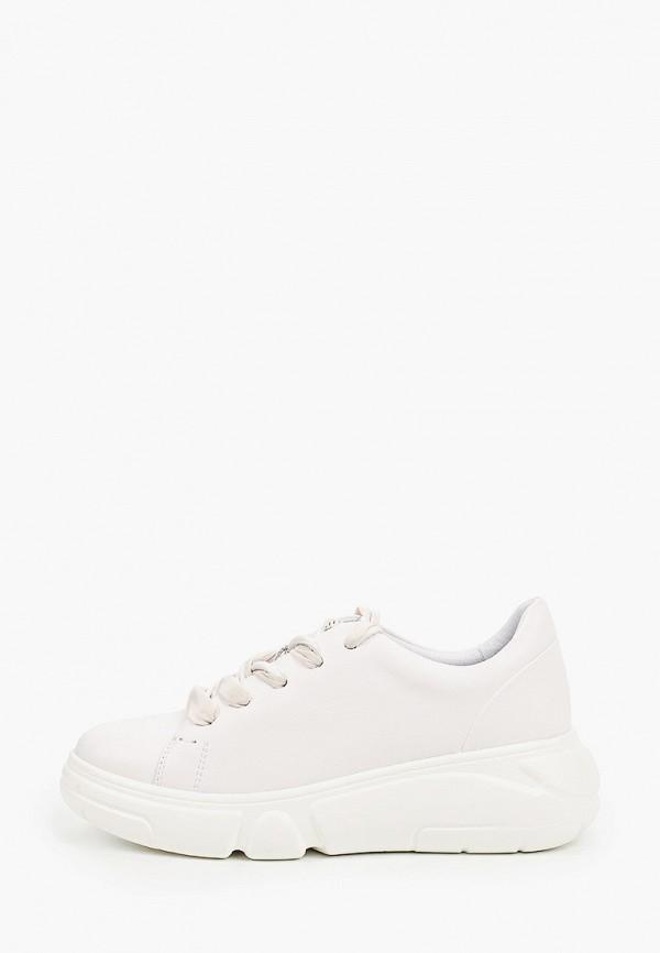 женские низкие кроссовки graciana, белые