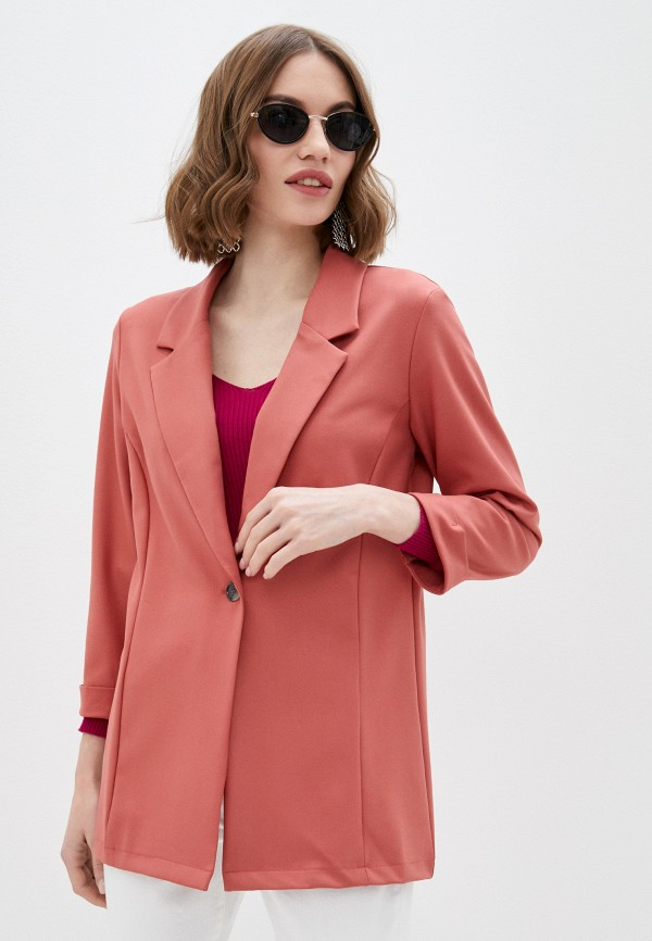 женский жакет mark formelle, розовый