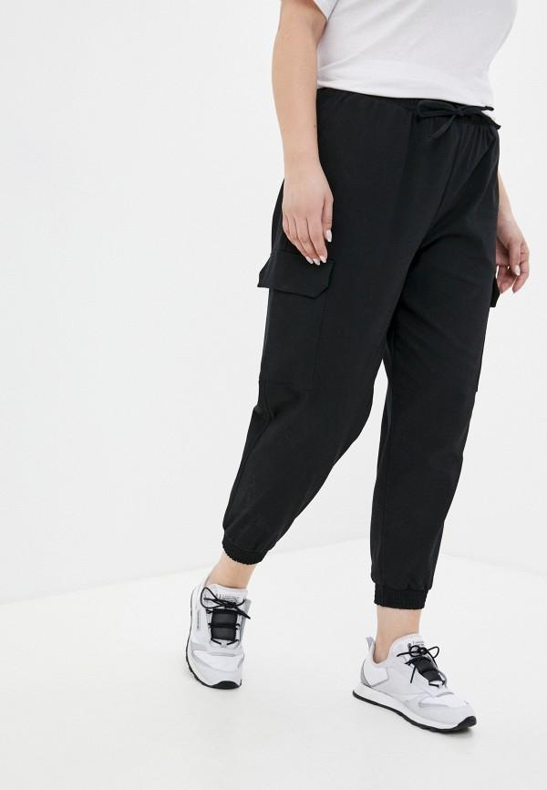 женские брюки карго mark formelle, черные