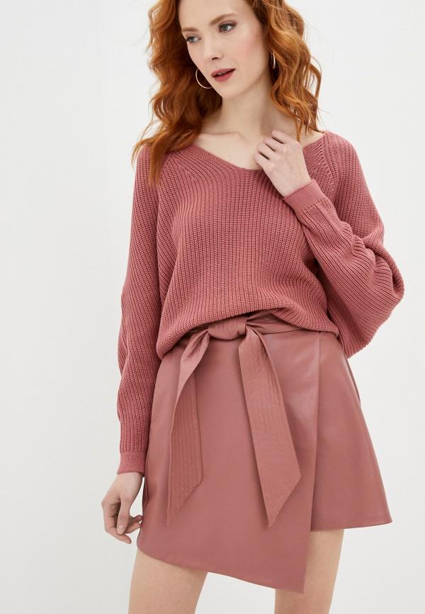 женский пуловер francesco donni, розовый