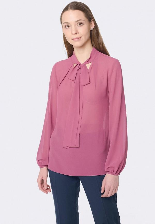 женская блузка cat orange, розовая