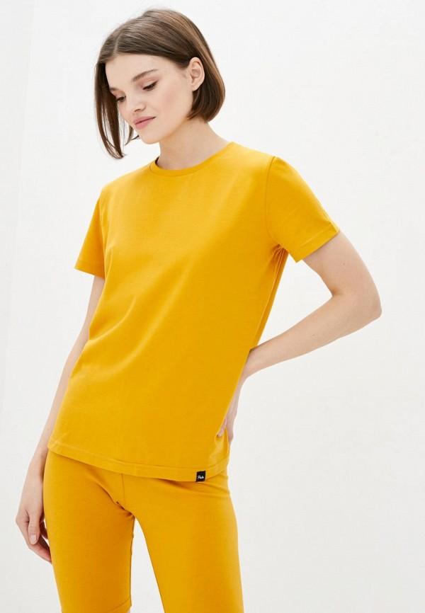женская футболка pate, желтая