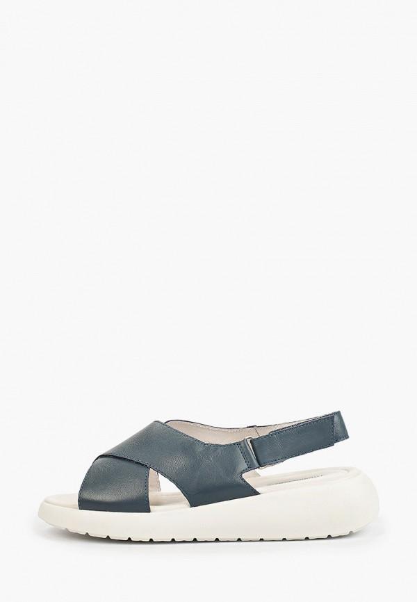 женские сандалии thomas munz, синие