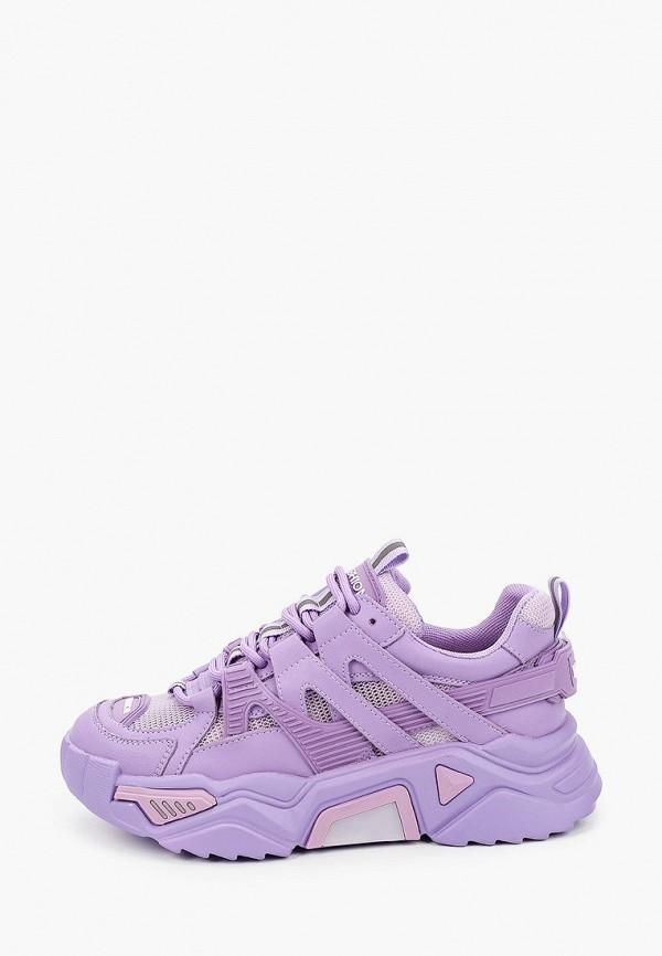 женские низкие кроссовки o2 live, фиолетовые