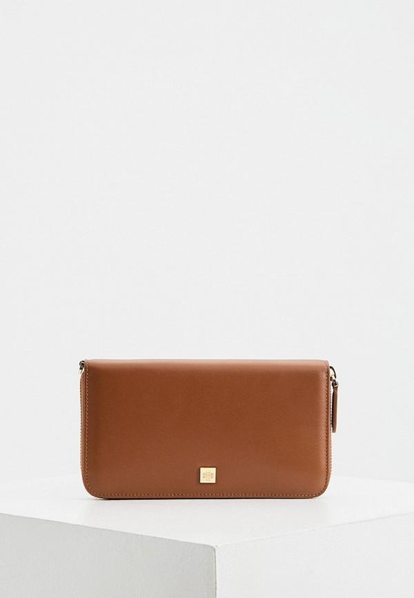 женский кошелёк hogl, коричневый