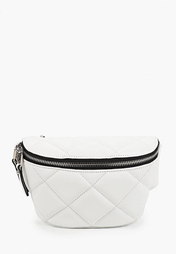 женская поясные сумка eleganzza, белая