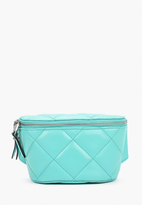 женская поясные сумка eleganzza, бирюзовая