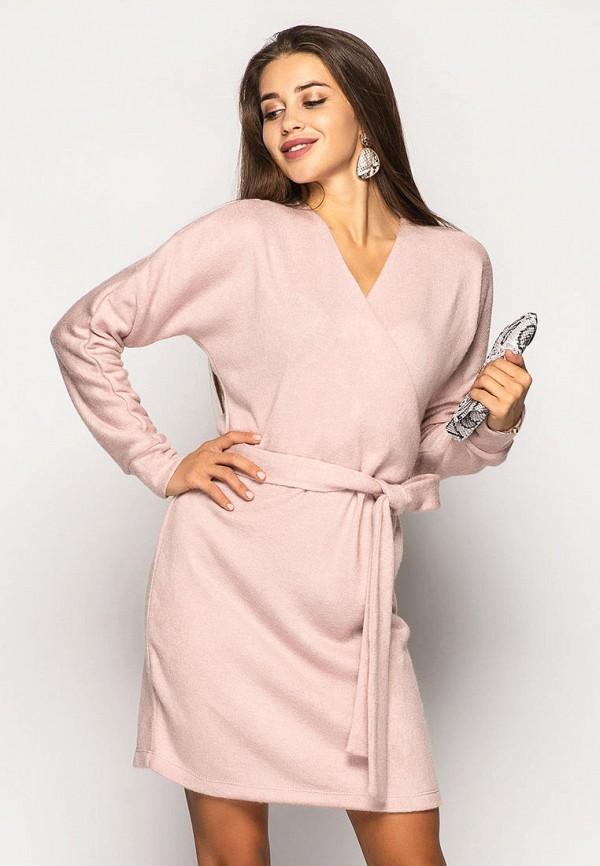 женское платье larionoff, розовое