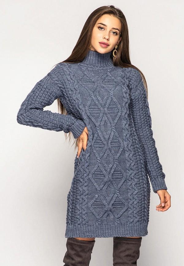 женское платье larionoff, синее