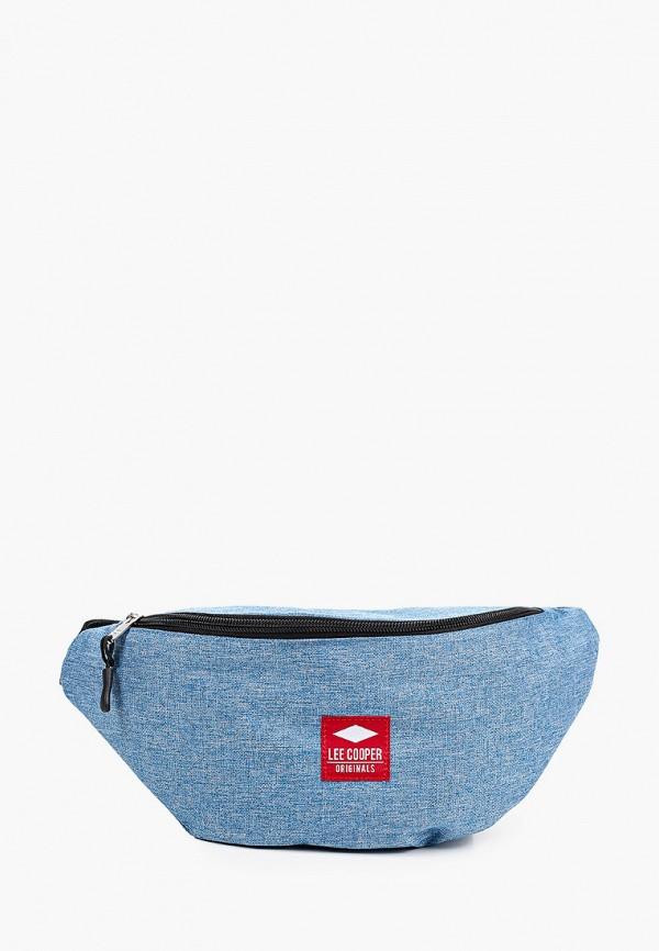 женская поясные сумка lee cooper, голубая