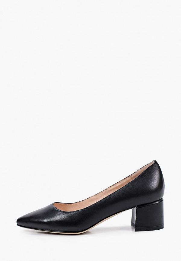 женские туфли с закрытым носом abricot, черные