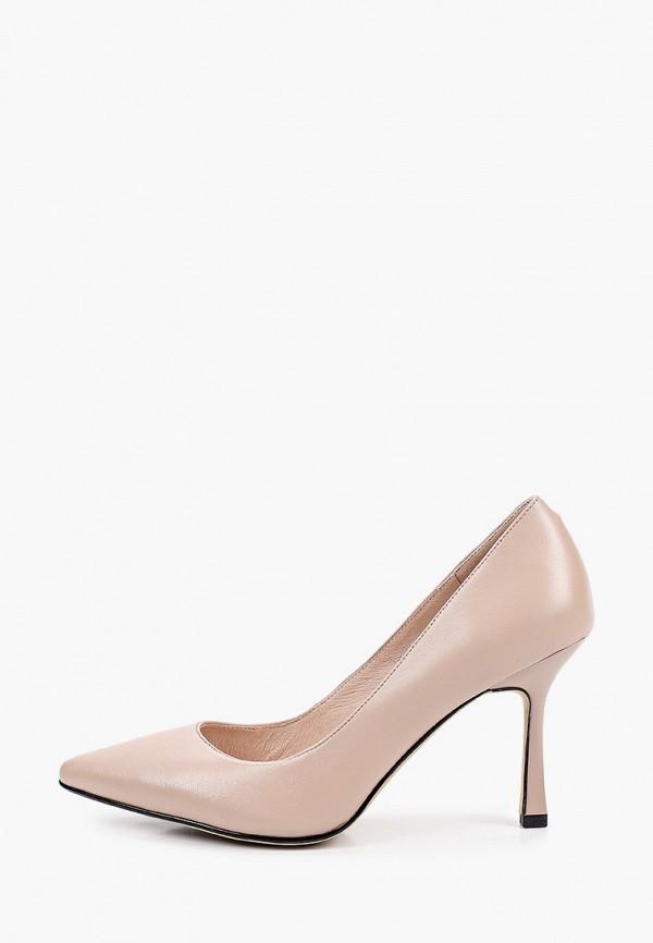 женские туфли-лодочки abricot, бежевые