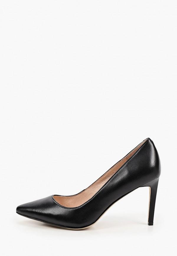 женские туфли-лодочки abricot, черные