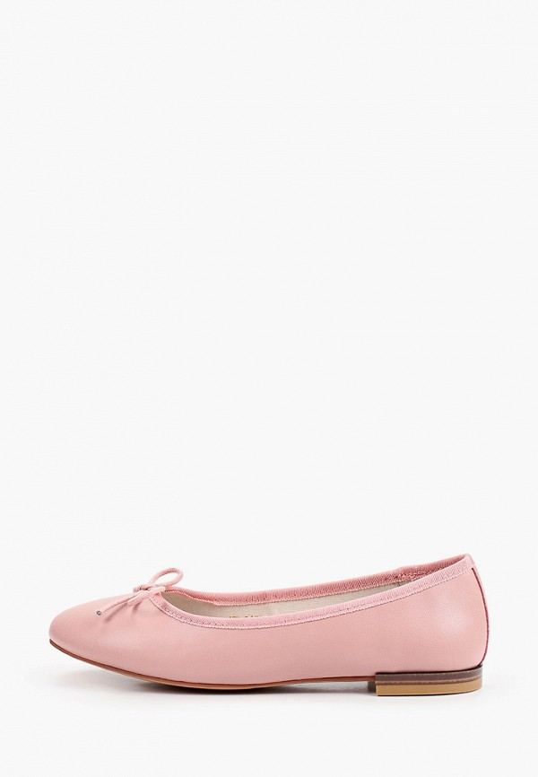 женские балетки abricot, розовые