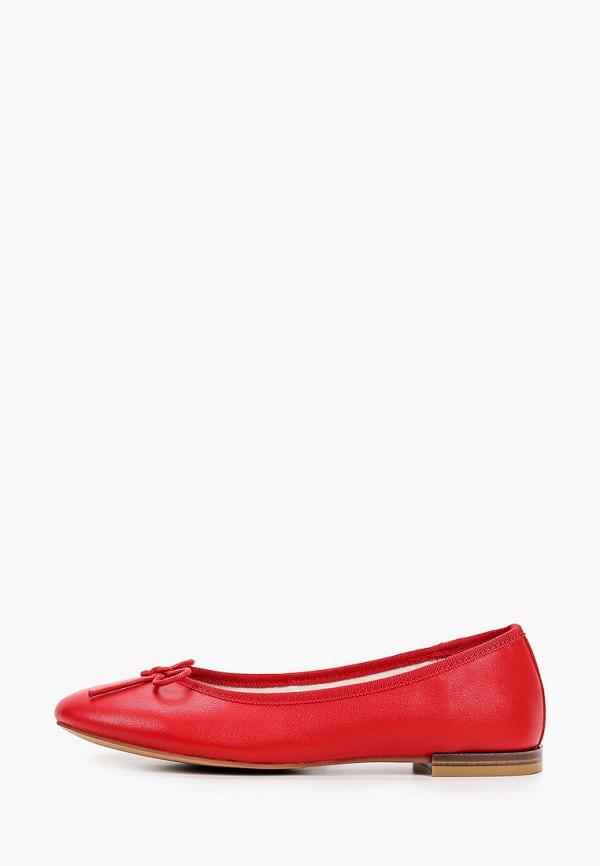 женские балетки abricot, красные