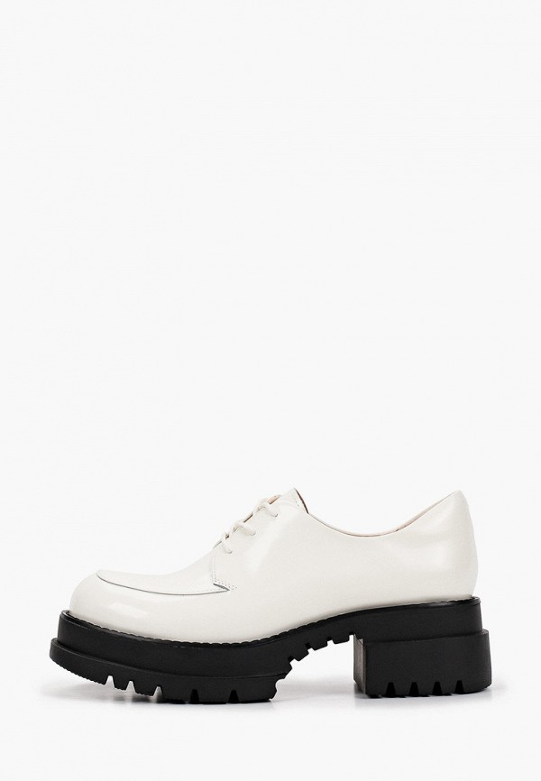 женские ботинки-оксфорды abricot, бежевые