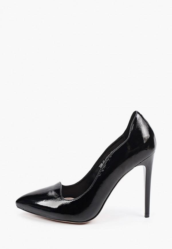 женские туфли-лодочки makfine, черные