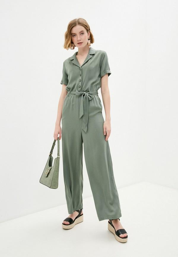 женский комбинезон с брюками incity, хаки