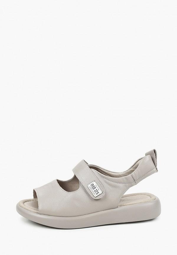 женские сандалии milana, серые