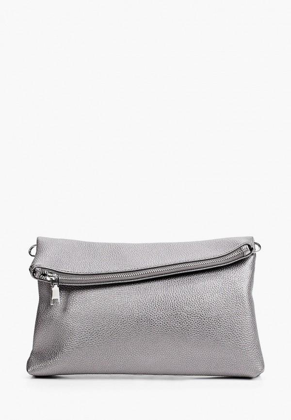 женская сумка через плечо снежная королева, серебряная