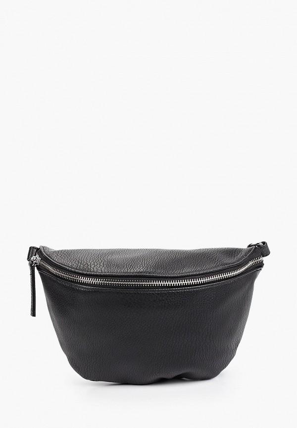 женская поясные сумка снежная королева, черная