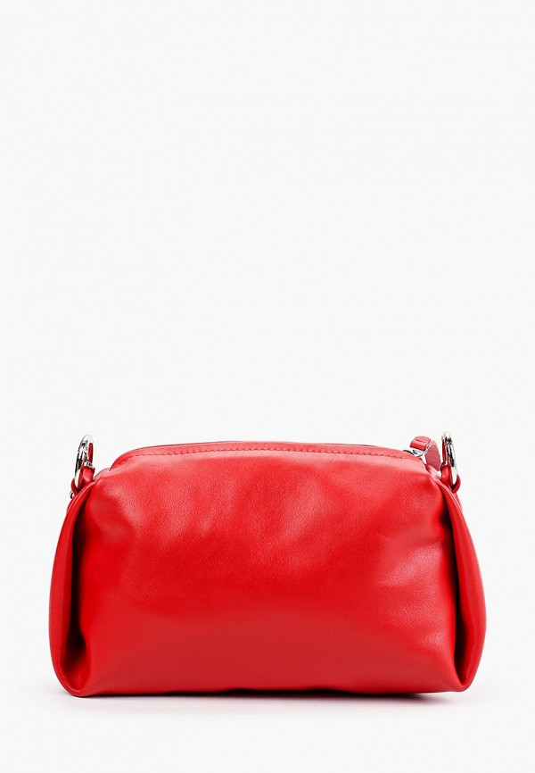 женская сумка через плечо asya malbershtein, красная