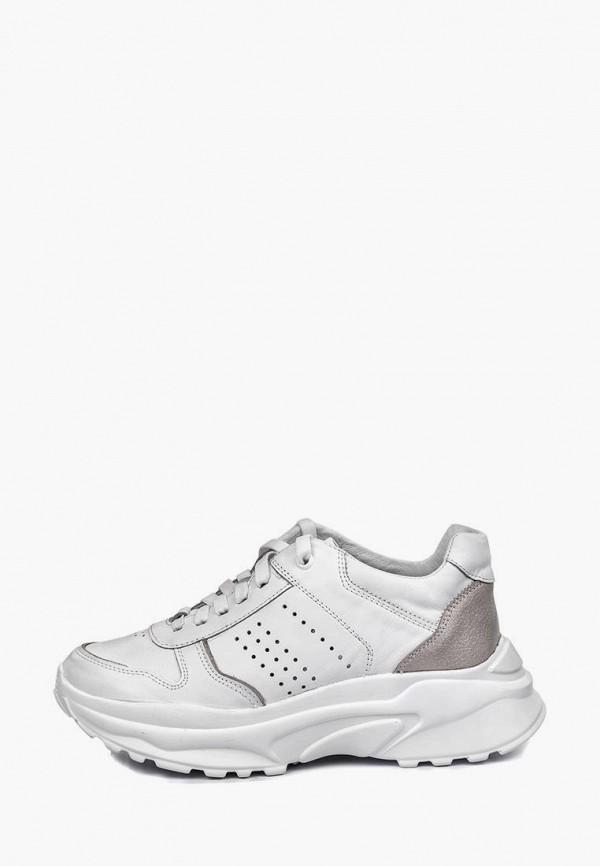 женские кроссовки mida, белые