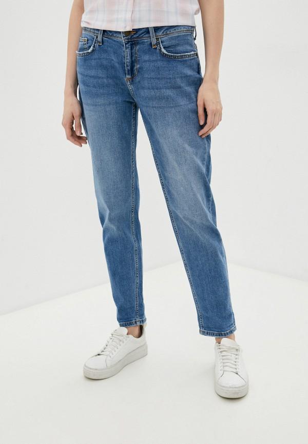 женские джинсы бойфренд colin's, голубые