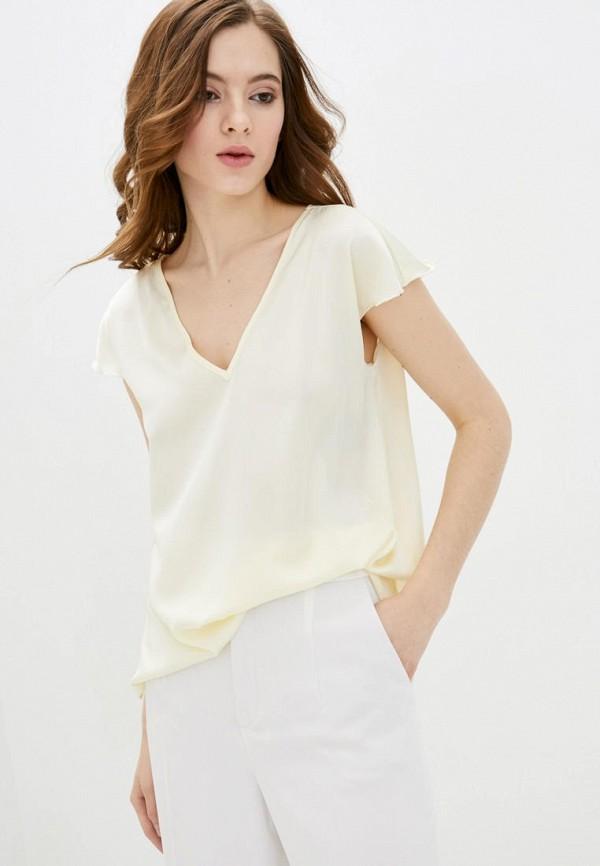 женская блузка garne, желтая