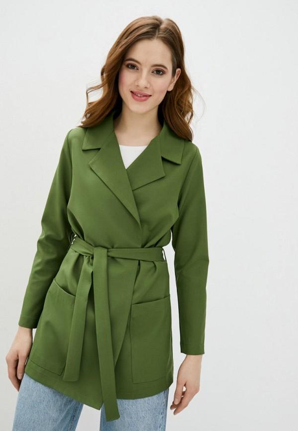 женский жакет garne, зеленый