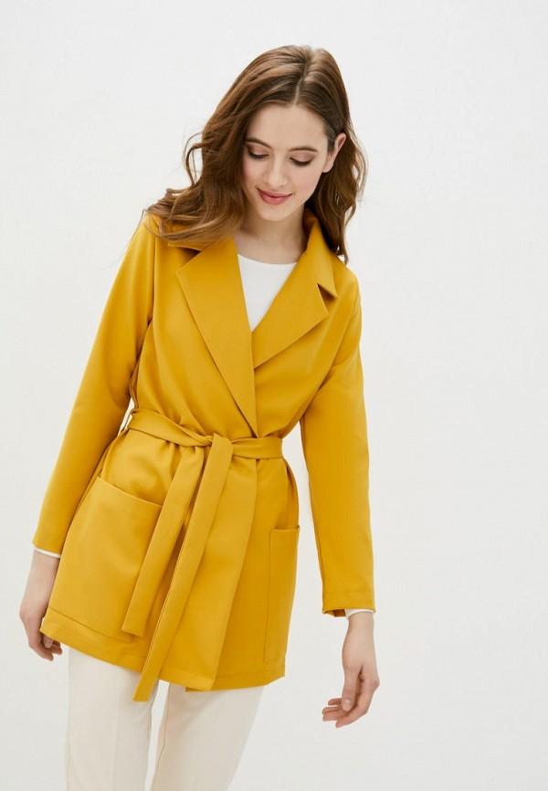 женский жакет garne, желтый