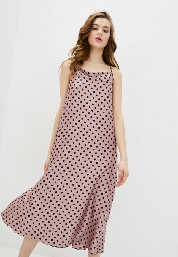 женское платье garne, розовое