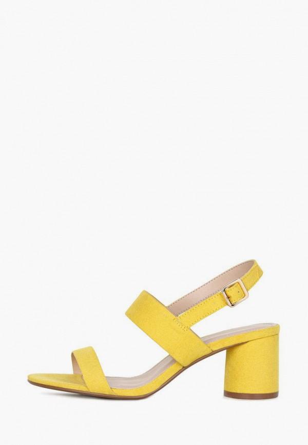 женские босоножки t.taccardi, желтые