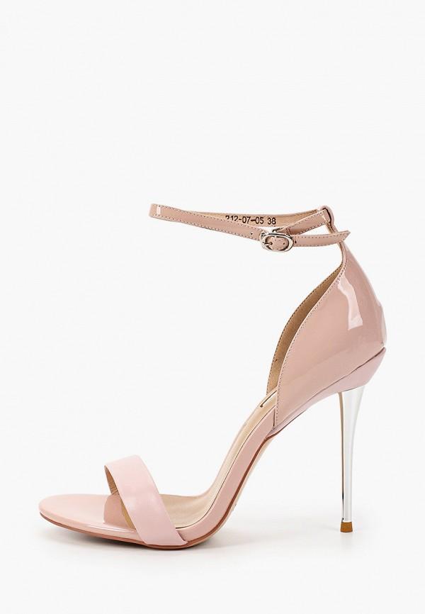 женские босоножки dino ricci, розовые