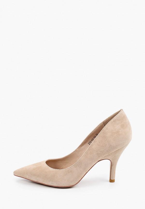 женские туфли-лодочки dino ricci, бежевые