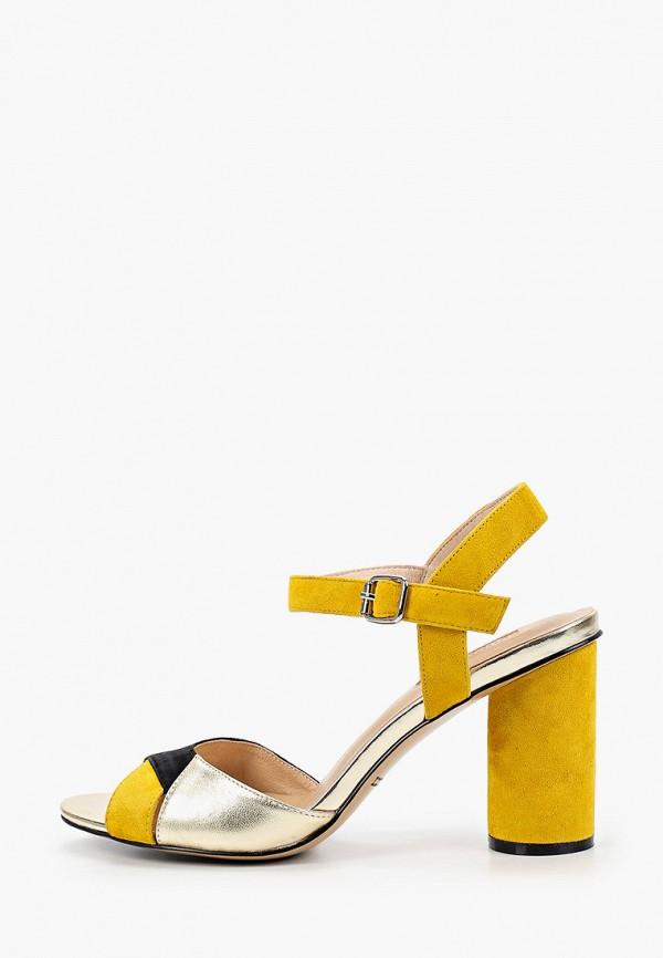 женские босоножки dino ricci, желтые