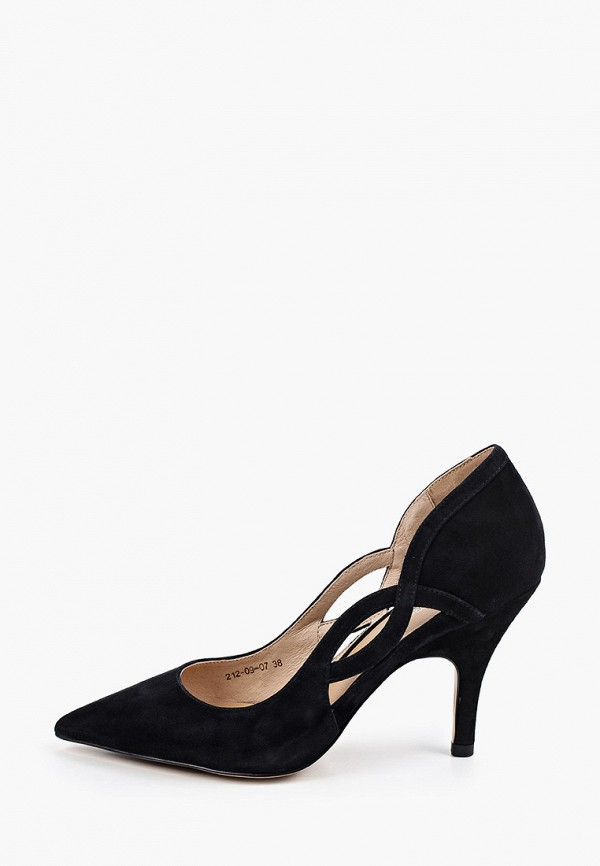 женские туфли dino ricci, черные