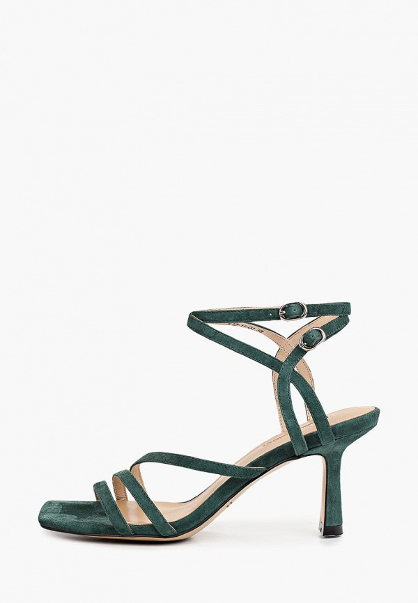 женские босоножки dino ricci, зеленые
