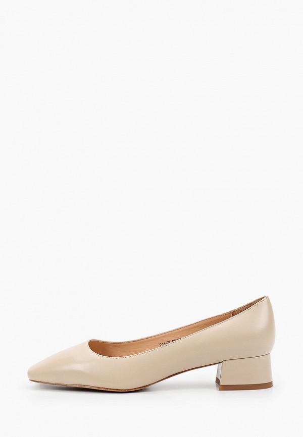 женские туфли с закрытым носом dino ricci, бежевые