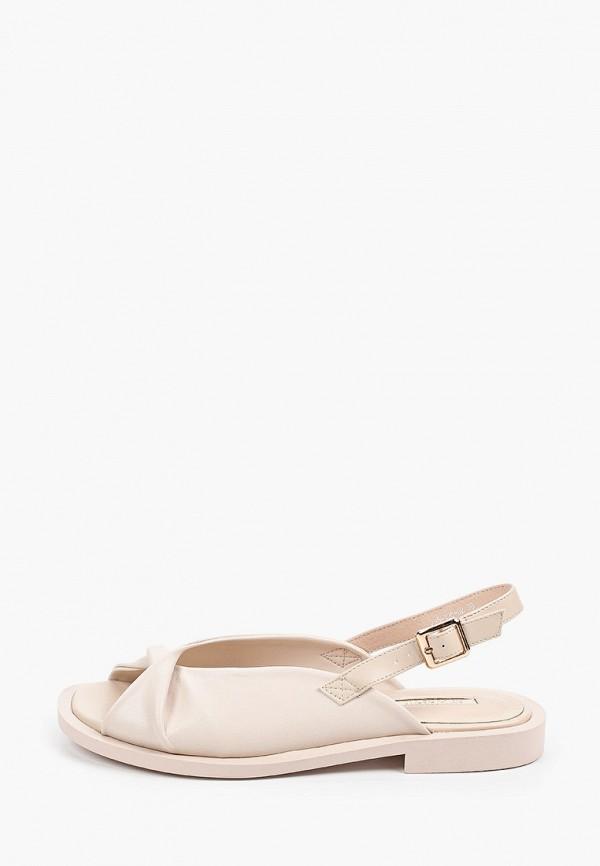 женские сандалии dino ricci, бежевые