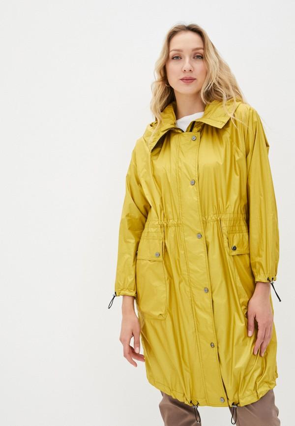 женская парка dixi-coat, желтая