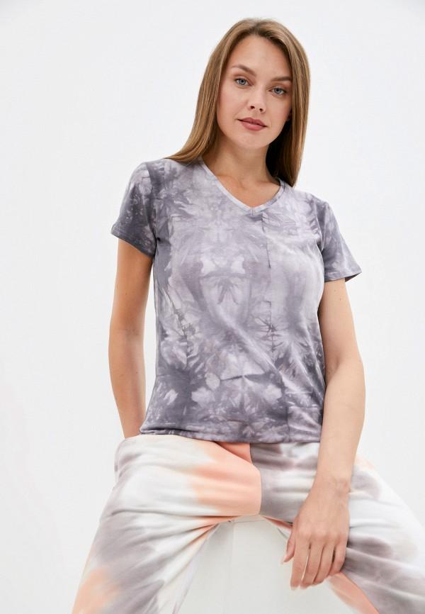 женская футболка d.s, серая
