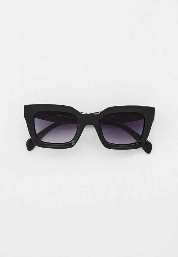 женские квадратные солнцезащитные очки ruxara, черные