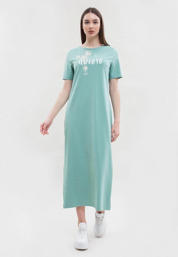 женское платье maxa, бирюзовое