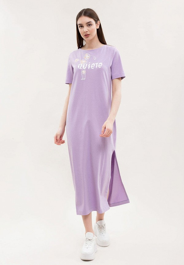 женское платье maxa, фиолетовое
