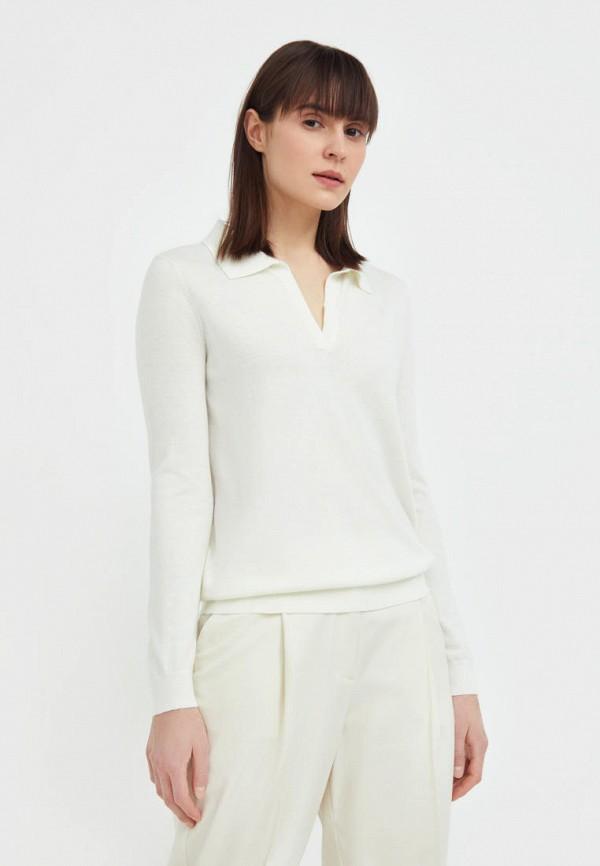 женский пуловер finn flare, белый