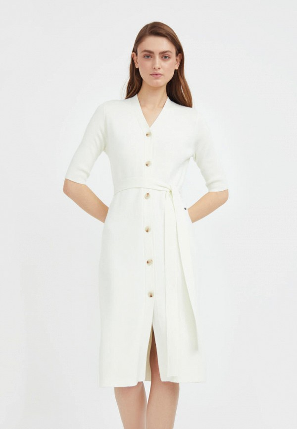 женское платье-свитеры finn flare, белое